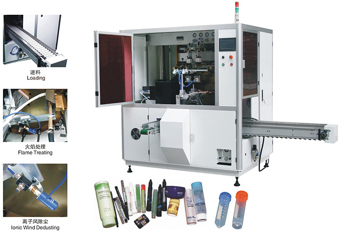 Screen Printing Machine for Bottles Tubes