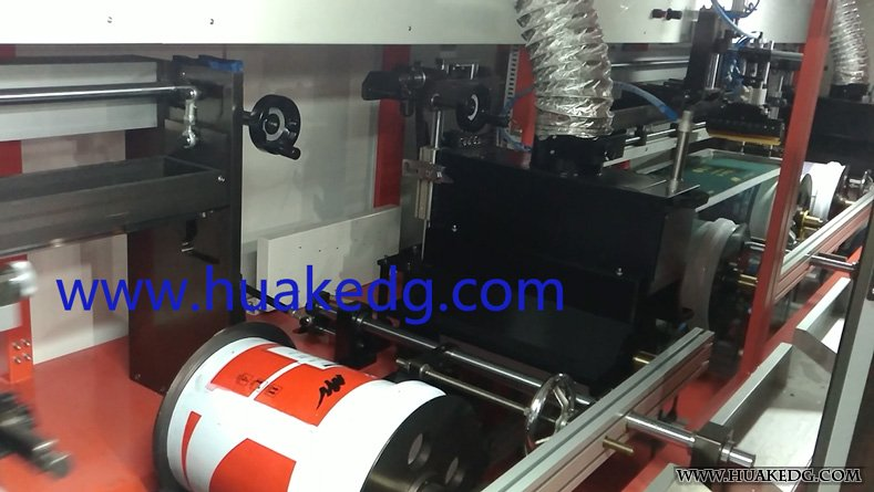 4 Colors Automatic UV Screen Printer on Buckets